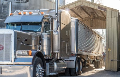 Morning Fresh Farms Grain Truck