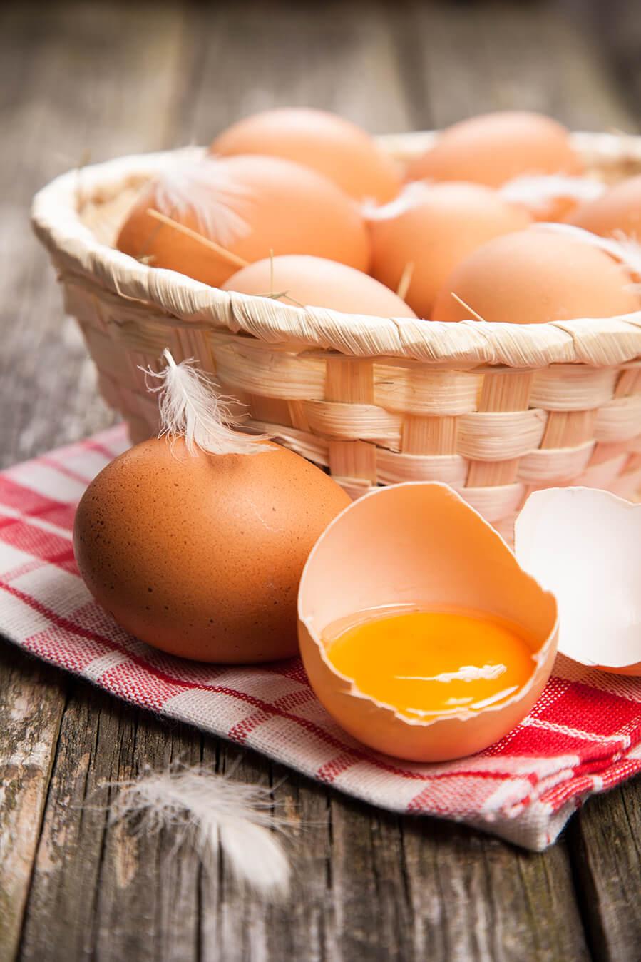 Morning Fresh Farms Egg Basket